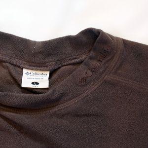 Columbia Men's Brown Mock Neck Fleece